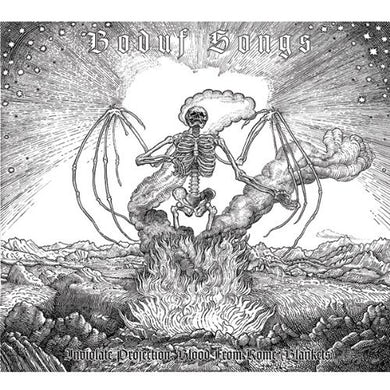 Boduf Songs INVIOLATE PROJECTION BLOOD FROM ROME BLANKETS Vinyl Record