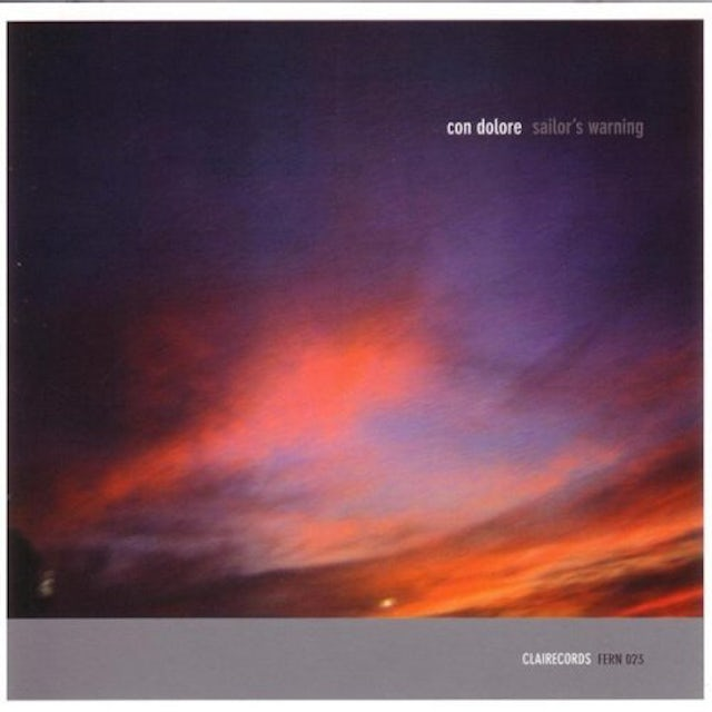 Con Dolore SAILOR'S WARNING CD
