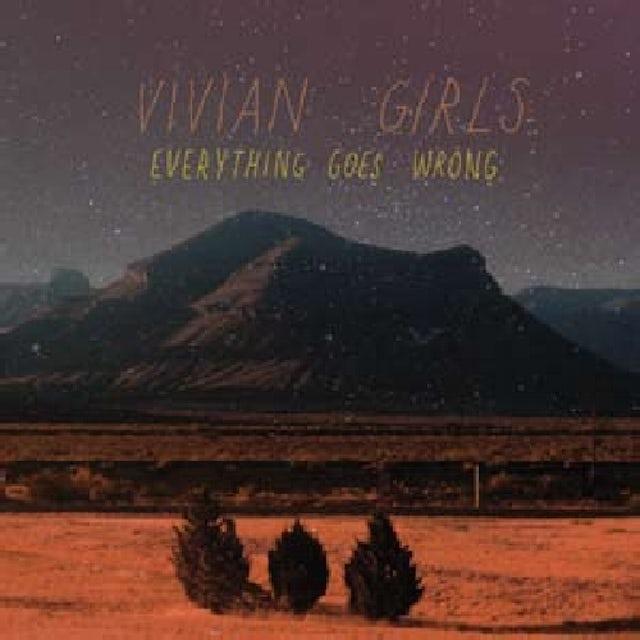 Vivian Girls EVERYTHING GOES WRONG CD