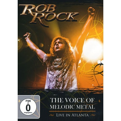 Rob Rock VOICE OF MELODIC METAL: LIVE IN ATLANTA DVD