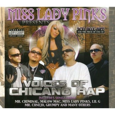 Miss Lady Pinks VOICES OF CHICANO RAP CD