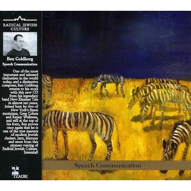 Ben Goldberg SPEECH COMMUNICATION CD