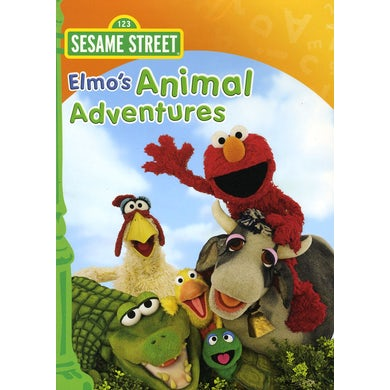 Sesame Street ELMO'S ANIMAL ADVENTURE DVD