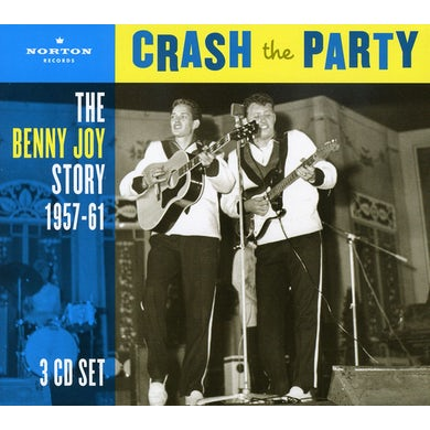 Benny Joy CRASH THE PARTY CD
