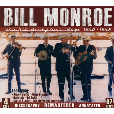 Bill Monroe & HIS BLUEGRASS BOYS 1950-1958 CD