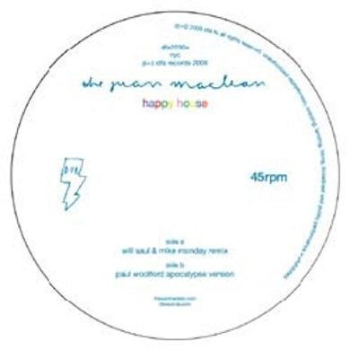 The Juan McLean HAPPY HOUSE (LAZARO CASANOVE REMIX) Vinyl Record