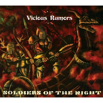 Vicious Rumors SOLDIERS OF THE NIGHT CD