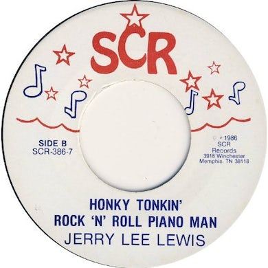 Jerry Lee Lewis GET OUT YOUR BIG ROLL DADDY / HONKY TONKIN ROCK Vinyl Record