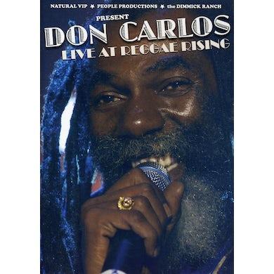 Don Carlos LIVE AT REGGAE RISING DVD