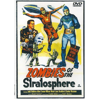 ZOMBIES OF THE STRATOSPHERE DVD