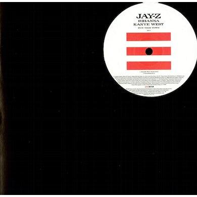 Jay Z RUN THIS TOWN Vinyl Record