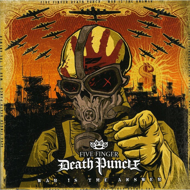 Five Finger Death Punch WAR IS THE ANSWER (ED) CD