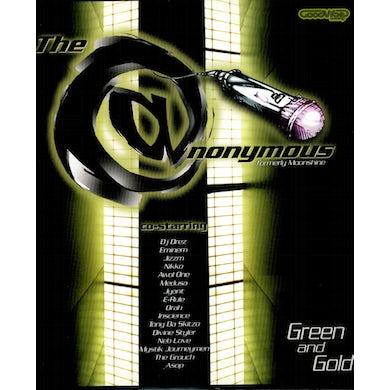 Eminem & Anonymous GREEN & GOLD Vinyl Record