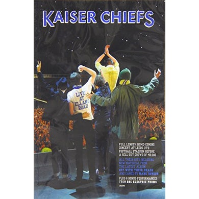Kaiser Chiefs LIVE AT ELLAND ROAD CD
