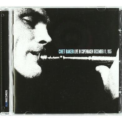 Chet Baker LIVE IN COPENHAGEN CD