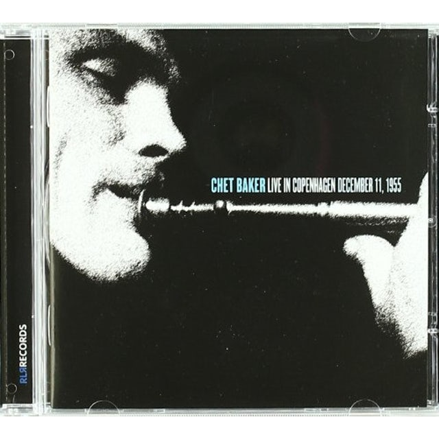 Chet Baker LIVE IN COPENHAGEN CD