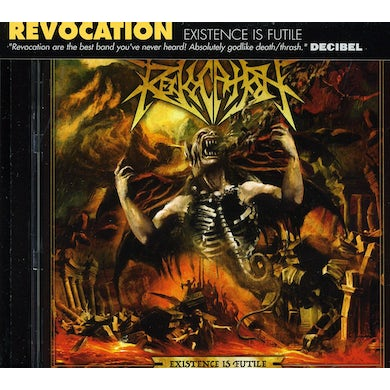 Revocation EXISTENCE IS FUTILE CD