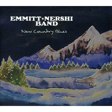 Emmitt-Nershi Band NEW COUNTRY BLUES CD