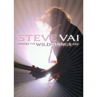 Steve Vai WHERE THE WILD THINGS ARE DVD