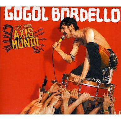 Gogol Bordello LIVE FROM AXIS MUNDI CD