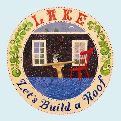 Lake LET'S BUILD A ROOF Vinyl Record