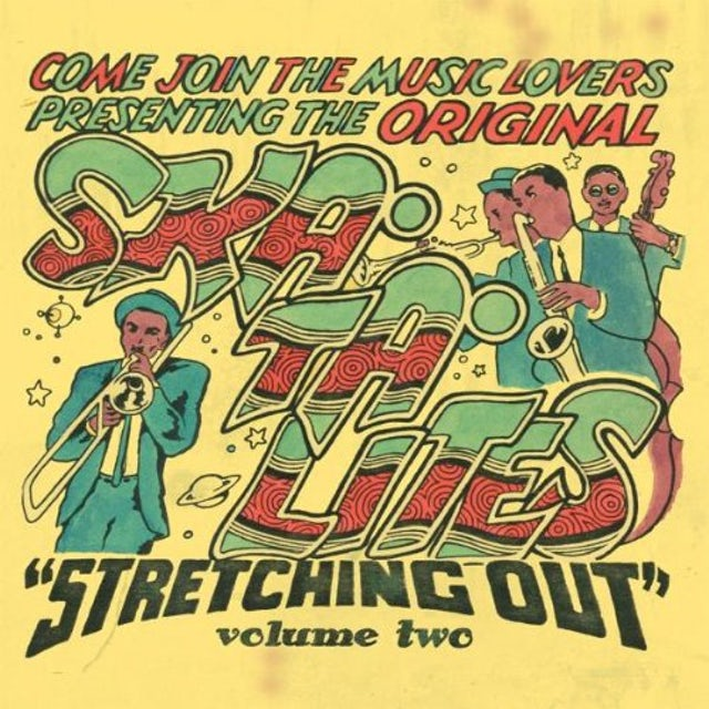 The Skatalites STRETCHING OUT 2 Vinyl Record