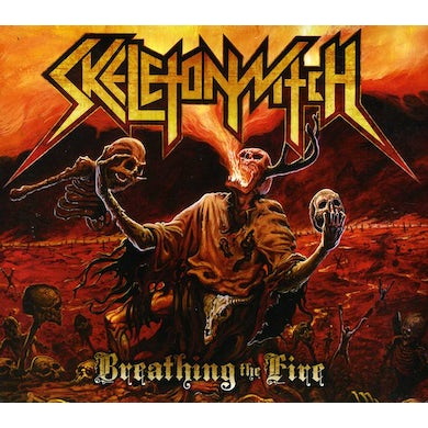 Skeletonwitch BREATHING THE FIRE CD