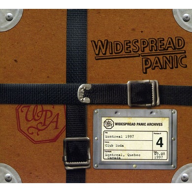 Widespread Panic MONTREAL 1997 CD