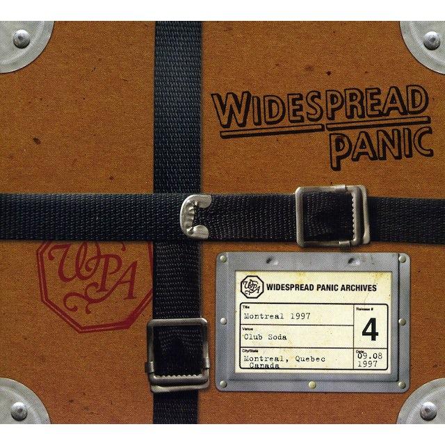 Widespread Panic MONTREAL 1997 CD