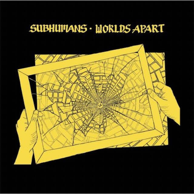 Subhumans WORLDS APART Vinyl Record