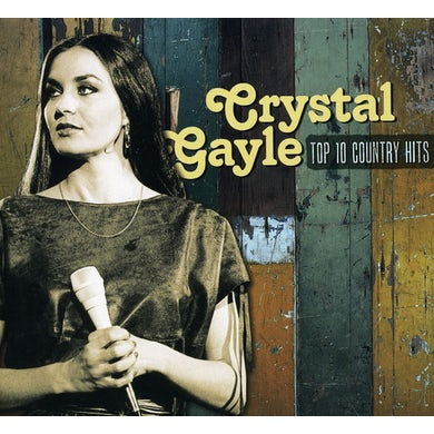 Crystal Gayle TOP 10 COUNTRY HITS CD