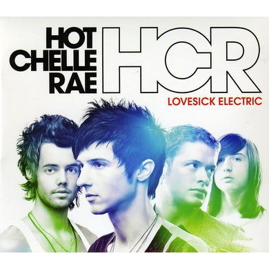 Hot Chelle Rae LOVESICK ELECTRIC CD