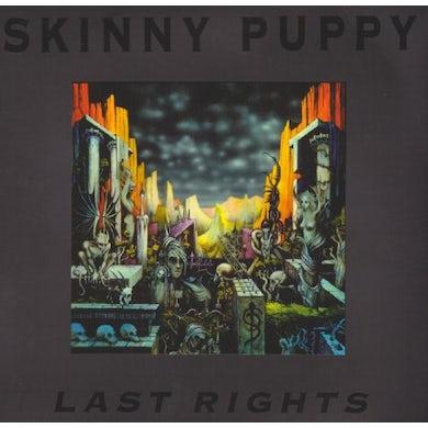 Skinny Puppy LAST RIGHTS Vinyl Record
