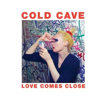Cold Cave LOVE COMES CLOSE Vinyl Record