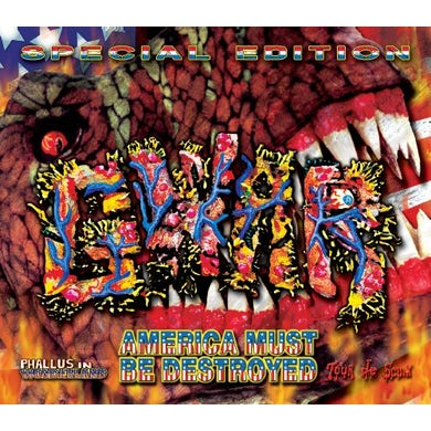 Gwar AMERICA MUST BE DESTROYED CD