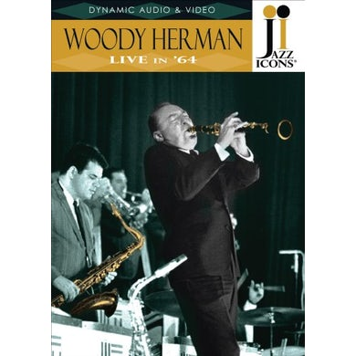 JAZZ ICONS: WOODY HERMAN LIVE IN 64 DVD