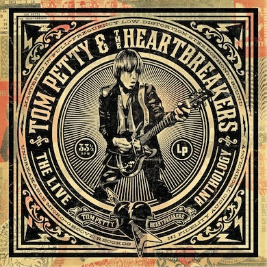 Tom Petty and the Heartbreakers LIVE ANTHOLOGY CD