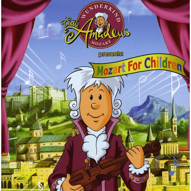 LITTLE AMADEUS PRESENTS: MOZART FOR CHILDREN CD