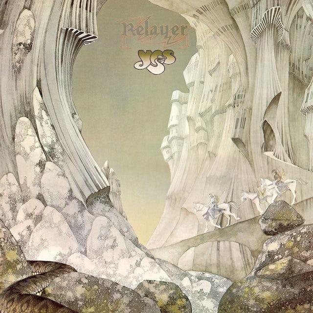 Yes RELAYER Vinyl Record