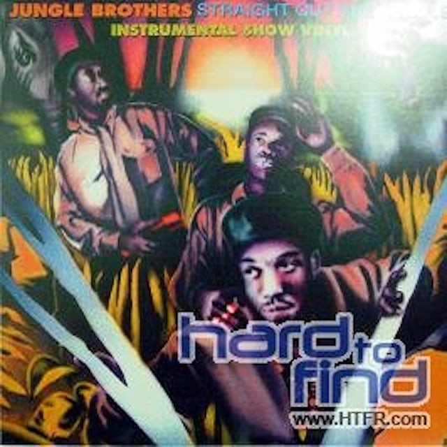 Jungle Brothers STRAIGHT OUT THE JUNGLE: INSTRUMENTAL SHOW Vinyl Record