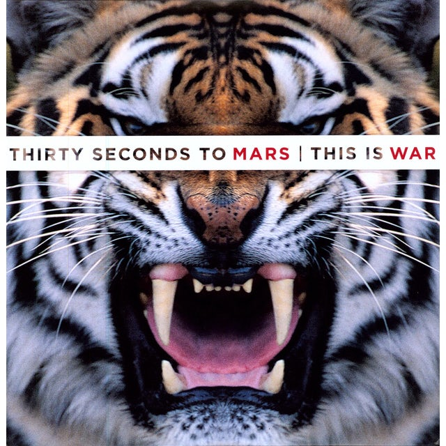 Thirty Seconds To Mars THIS IS WAR Vinyl Record