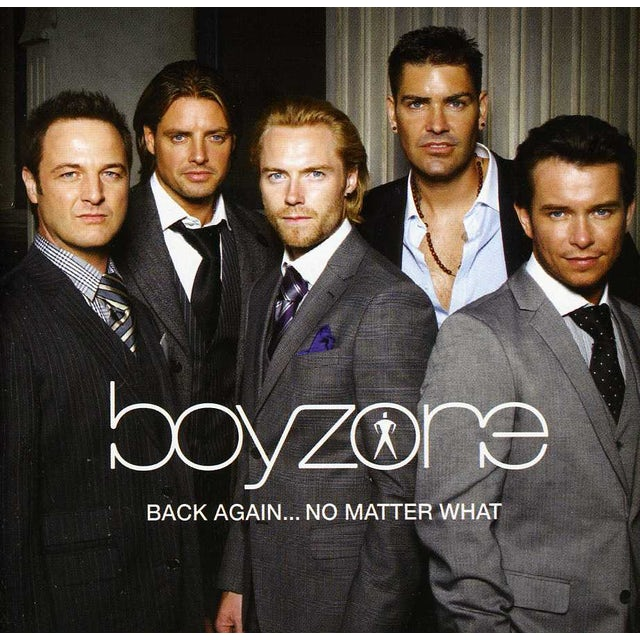 Boyzone BACK AGAIN: NO MATTER WHAT - THE GREATEST HITS CD