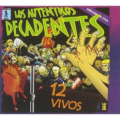 Los Autenticos Decadentes 12 VIVOS CD
