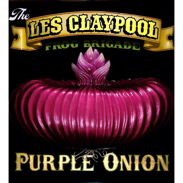 Les / Frog Brigade Claypool PURPLE ONION Vinyl Record