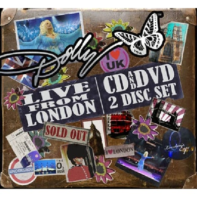 Dolly Parton LIVE FROM LONDON CD