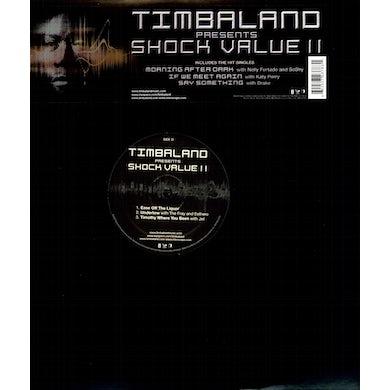 Timbaland SHOCK VALUE 2 Vinyl Record
