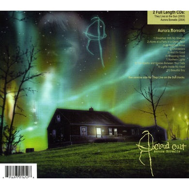 Cloud Cult THEY LIVE ON THE SUN / AURORA BOREALIS CD