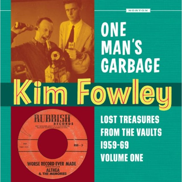 Kim Fowley ONE MAN'S GARBAGE CD