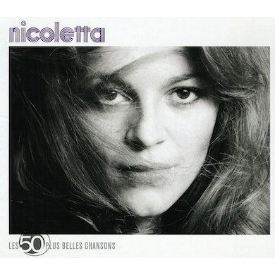 Nicoletta LES 50 PLUS BELLES CHANSONS CD