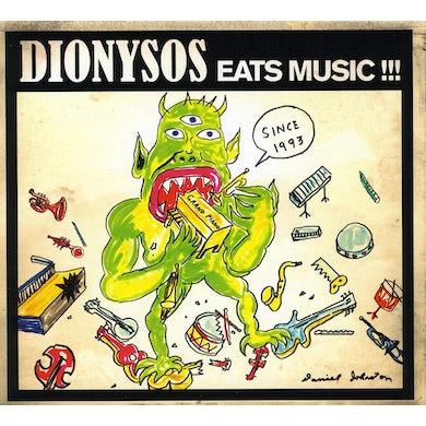 Dionysos EATS MUSIC CD